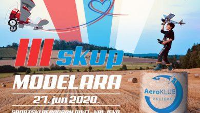 Photo of Aeroklub Valjevo dana 27. juna 2020 god. sa početkom u 11h i završetkom sa zalaskom sunca, organizuje treći revijalni modelarski skup